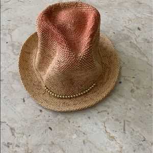 Sale‼️Ladies Western Style Hat with Gold Beads